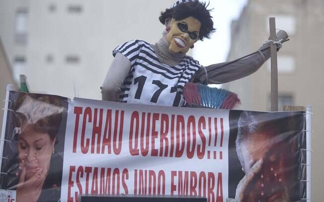 Movimentação na Avenida Paulista na manhã deste domingo (17)