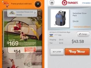 Aplicativo para iPhone permite fotografar produtos anunciados e buscar ofertas na internet