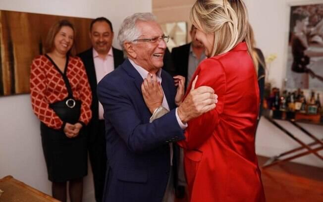 Carlos Alberto de Nóbrega se casa pela terceira vez