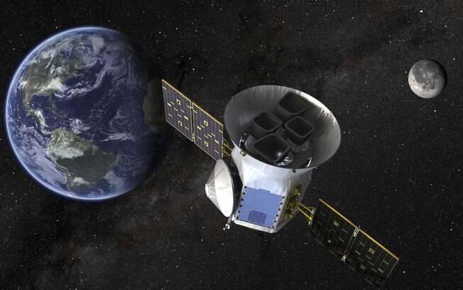 Agência Espacial Norte-Americana (Nasa) lançará  satélite que será usado para a busca de planetas alienígenas no espaço