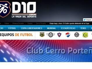 Imprensa paraguaia noticiou com pesar eliminação do Cerro Porteño nas oitavas de final da Copa Libertadores