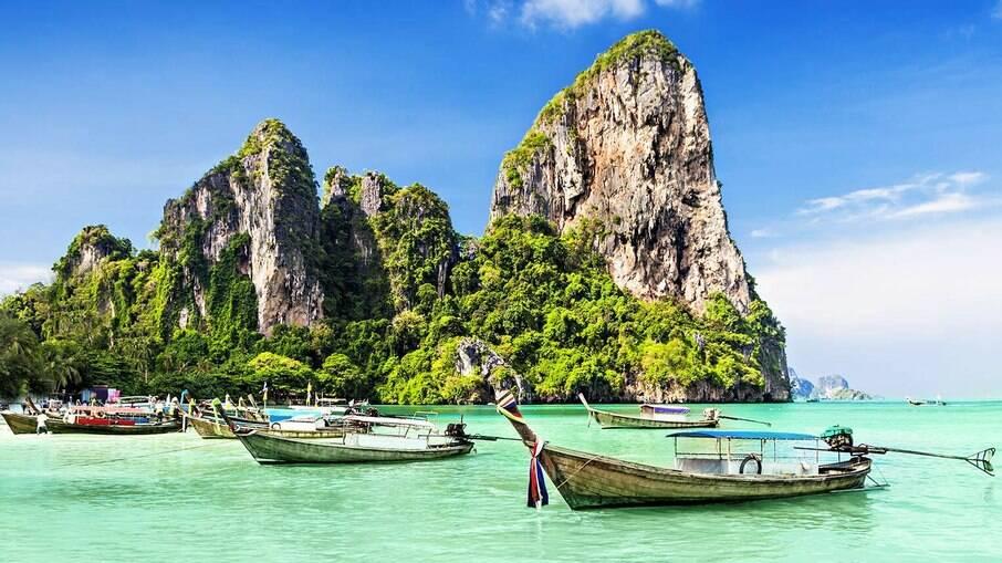 Tailândia tem diversas ilhas incríveis