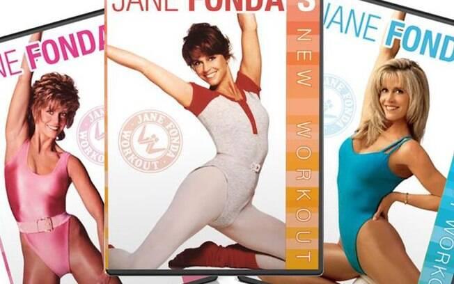 Jane Fonda lança a moda do Body nas academias