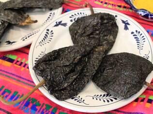Chipotle é uma pimenta bastante utilizada na culinária local. Pode ser fresca ou desidratada