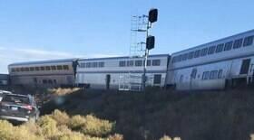 Três pessoas morrem e dezenas ficam feridas após trem descarrilar