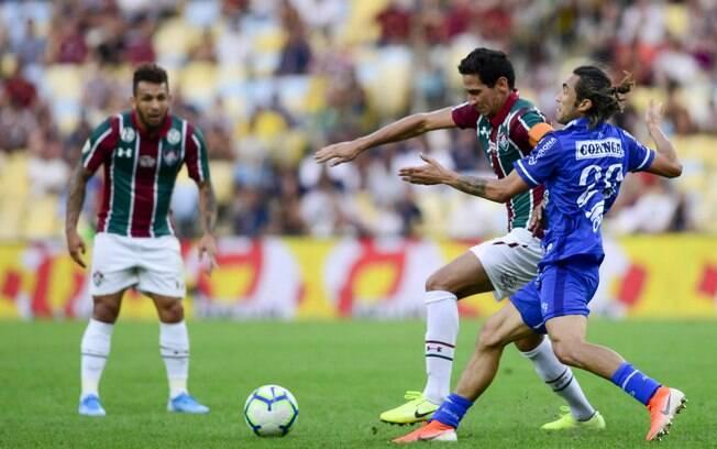 CSA surpreendeu o Fluminense no Maracanã