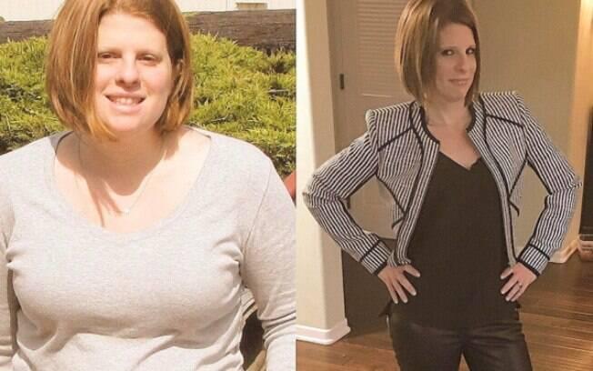 Mais um antes e depois de Jennifer