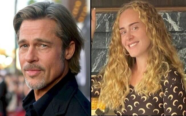 Adele e Brad Pitt estariam se conhecendo melhor