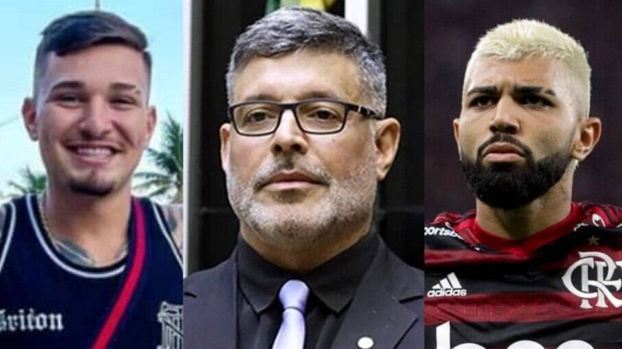 MC Gui, Alexandre Frota e Gabigol