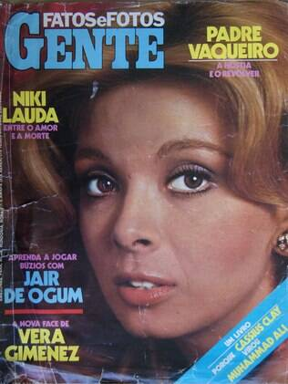 Revista mostra nova face de Vera, que levou 150 pontos no rosto após acidente de carro, em 1976