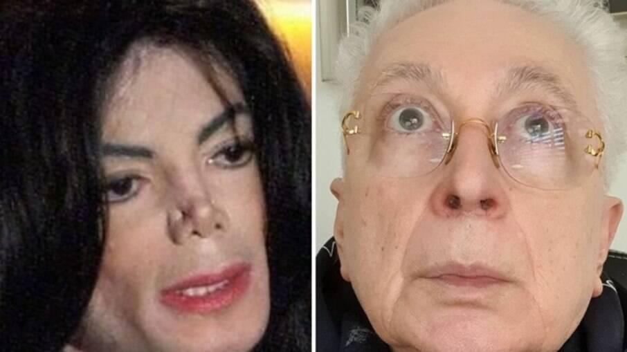 Michael Jackson e Aguinaldo Silva