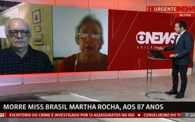 Cobertura com Erick Bang e Artur Xexéo, jornalistas da GloboNews, que rendeu gafes