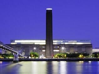 Da estação St. Pauls dá para chegar ao museu de arte moderna Tate Modern