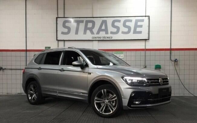 Volkswagen Tiguan oettinger alia mais potência à tração integral, prometendo uma aceleração bruta