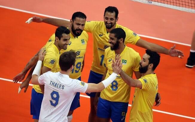 Brasil venceu a China e fechou bem a terceira rodada da Liga das Nações de vôlei