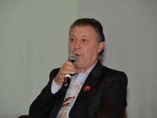 Argentino participou de debate no 2º Seminário de Gestão do Esporte, no Minas Tênis Clube
