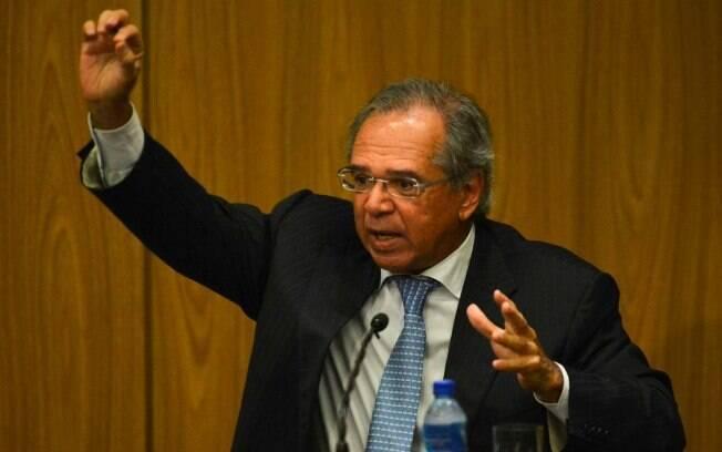 Na FGV, o ministro Paulo Guedes ainda reiterou a defesa da criação de um regime previdenciário por capitalização