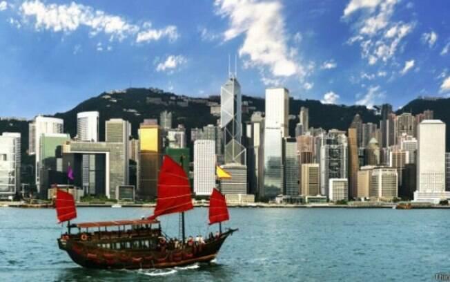 Hong Kong tem há mais de cinco décadas sistema para captar água do mar e usá-la em descargas