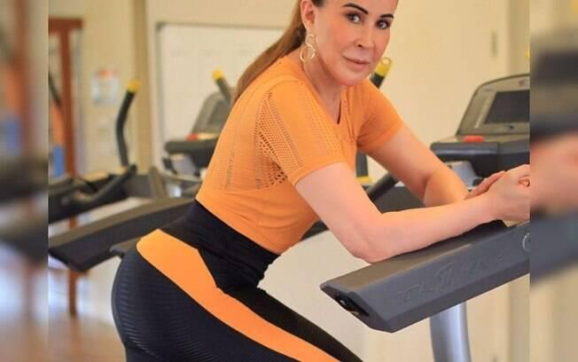 Zilu Godoi se dedica à academia