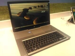 Versátil, novo computador da Acer permite utilização em quatro posições de tela distintas