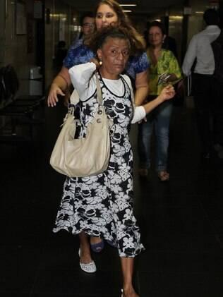 A camareira Esmeralda de Souza prestou depoimento na manhã desta quarta-feira (25)