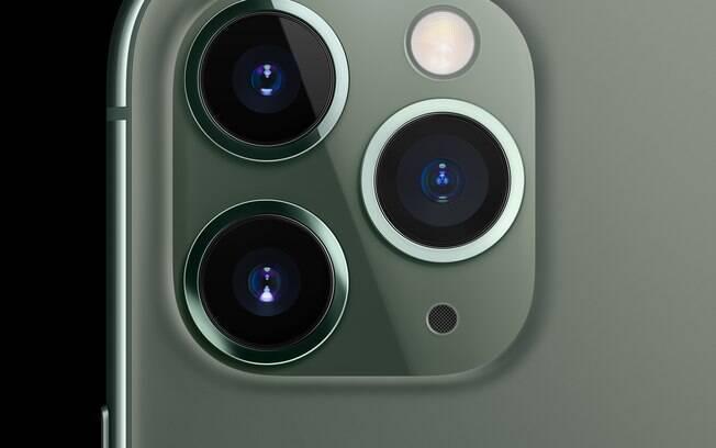 câmera iPhone