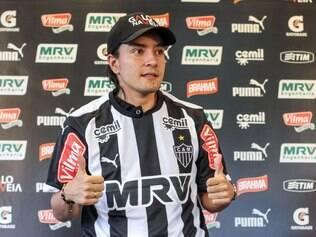 Cárdenas foi oficialmente apresentado como novo reforço do Galo nesta sexta-feira