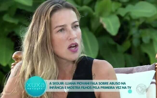 Luana Piovani fala sobre traição a Rodrigo Santoro e revela ter sofrido abuso