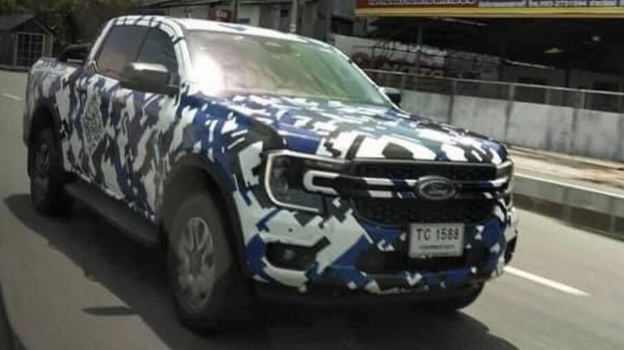 Ford Ranger da linha 2023 já roda em testes na Austrália e será fabricada na Argentina daqui a dois anos