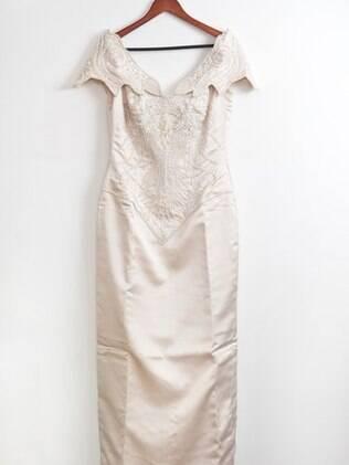 O vestido de noiva de Cássia