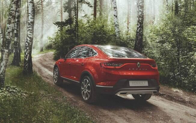 Renault Arkana terá o desenho arrojado com um dos principais apelo para chamar atenção dos consumidores