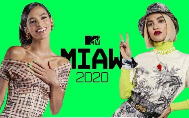 Bruna Marquezine e Manu Gavassi no MTV Miaw