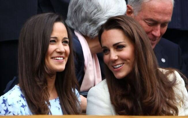 Pippa e Kate Middleton no Grand Slam