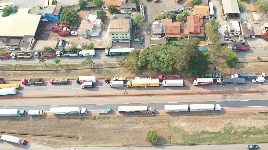 Em 2018, greve dos caminhoneiros levou a uma alta da inflação