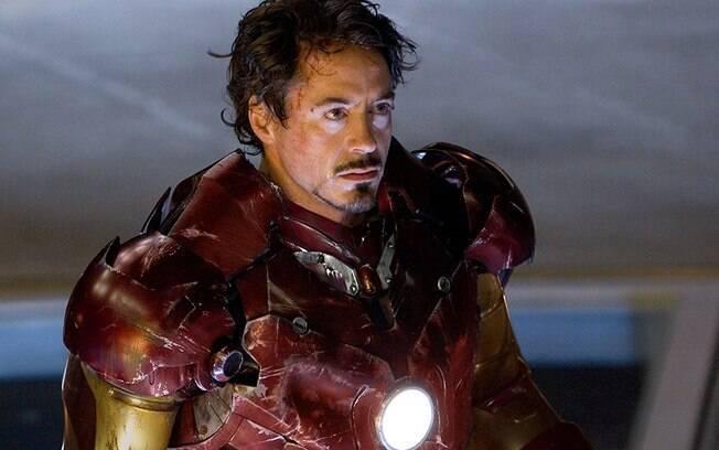 Armadura original  usada por Robert Downey Jr. em
