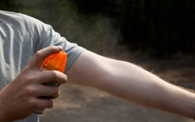 Marcas de repelentes tem diferentes substâncias e podem ter versão spray, aerossol e loção