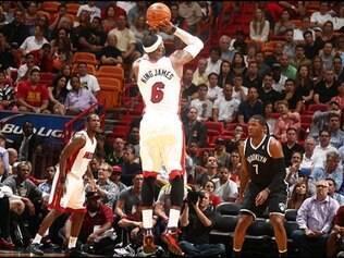 Heat foi derrotado em casa, pelo Brooklyn Nets, por 88 a 87