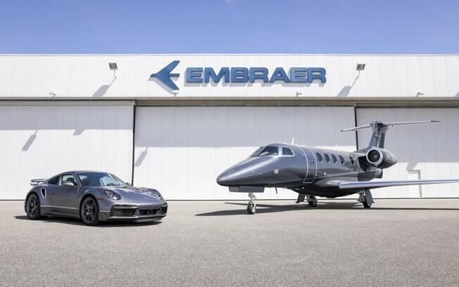 Parceria entre a Embraer (EMBR3) e Porsche rende US$ 10,9 milhões