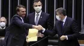 Bolsonaro dá medalha a Lira, Pacheco, Michelle e ministros