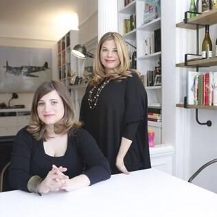 Gabrielle e Rebecca,do Modern Loss: artigos, recursos e conselhos para enlutados