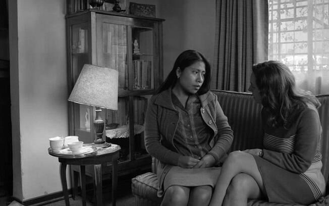 Cena de Roma, filme da Netflix que deve figurar no Oscar 2019