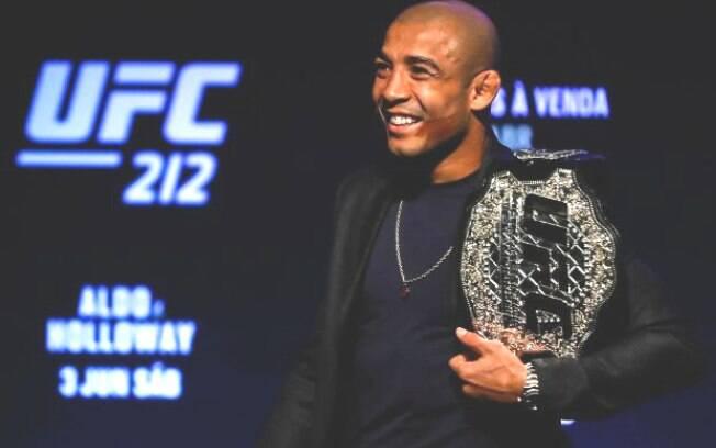 José Aldo já teve o cinturão do UFC