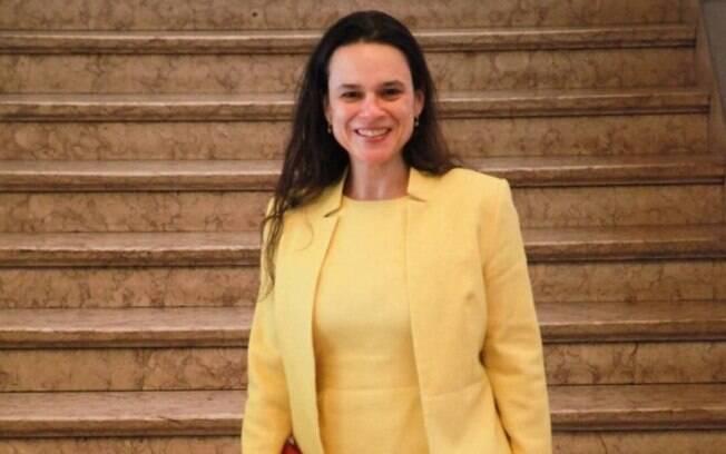 Advogada Janaína Paschoal  também aproveitou para defender o candidato do PSL