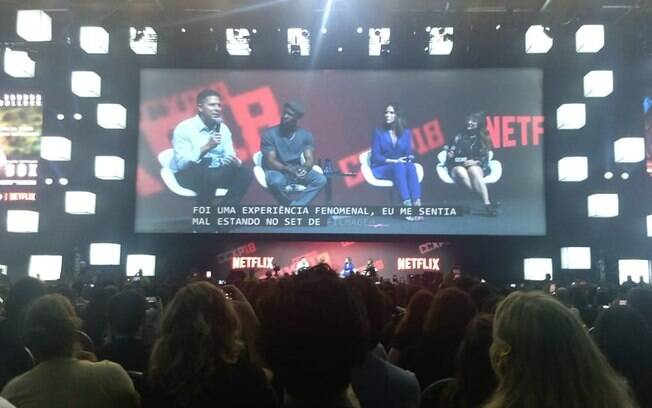 Terceiro painel da Netflix na CCXP 2018