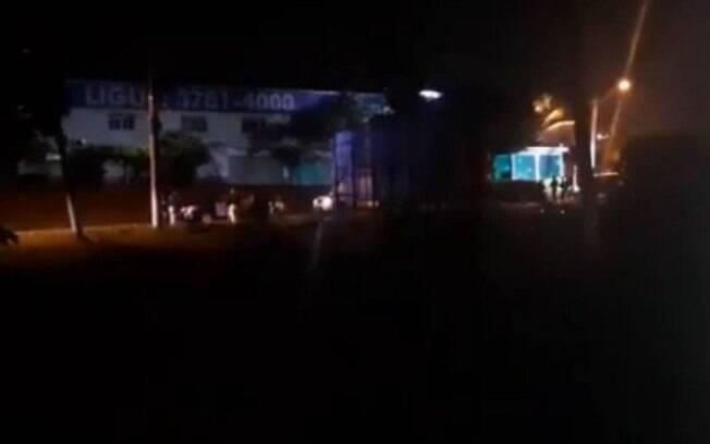 Comboio da milícia foi interceptado em Itaguaí