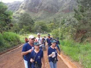 Crianças da AMR participam pela segunda vez do Circuito Mineiro de Trekking