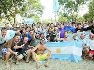 Para a partida entre Argentina e Nigéria, 23,1 mil hermanos chegaram