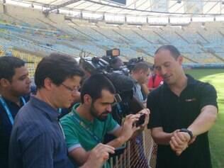 Tecnologia será utilizada na Copa do Mundo, e foi apresentada nesta manhã à imprensa