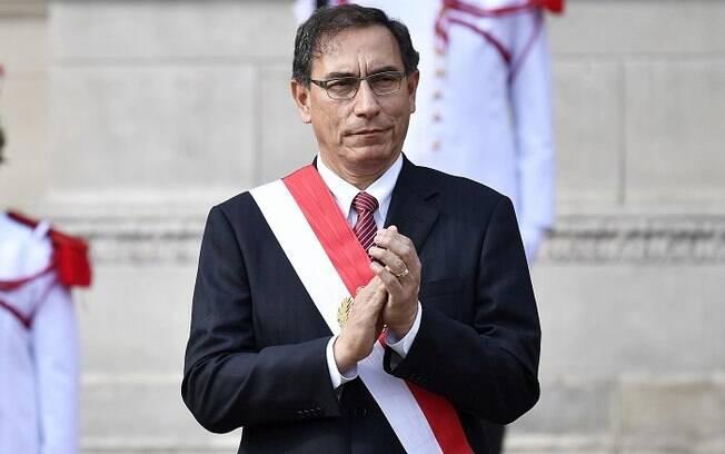 Martín Vizcarra, presidente do Peru