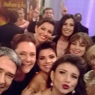 Selfie: famosos entram na onda no Melhores do Ano